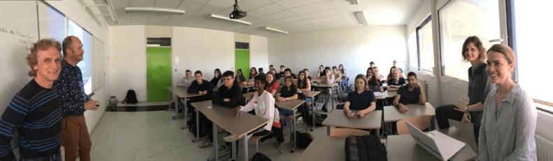 Rencontre au Lycée Saint Jean – 14 avril 2017